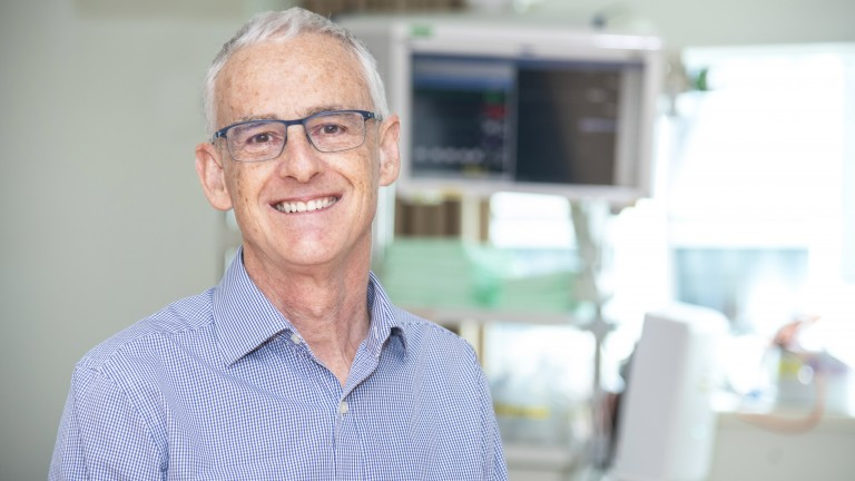 Dr Colin McArthur, Auckland City Hospital Intensive Care Specialist